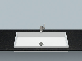Alape 2227503000 EB.ME750 Built-in Basin