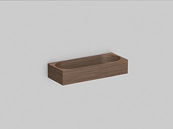 Alape 8267000671 AS.Box2 Walmount Shelf