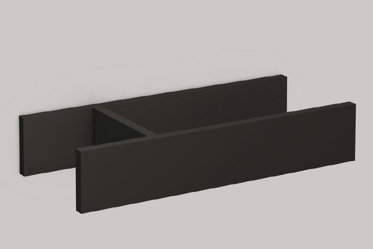 Alape 8400058667 FU.H358.2 Drawer Divider for Internal Drawer