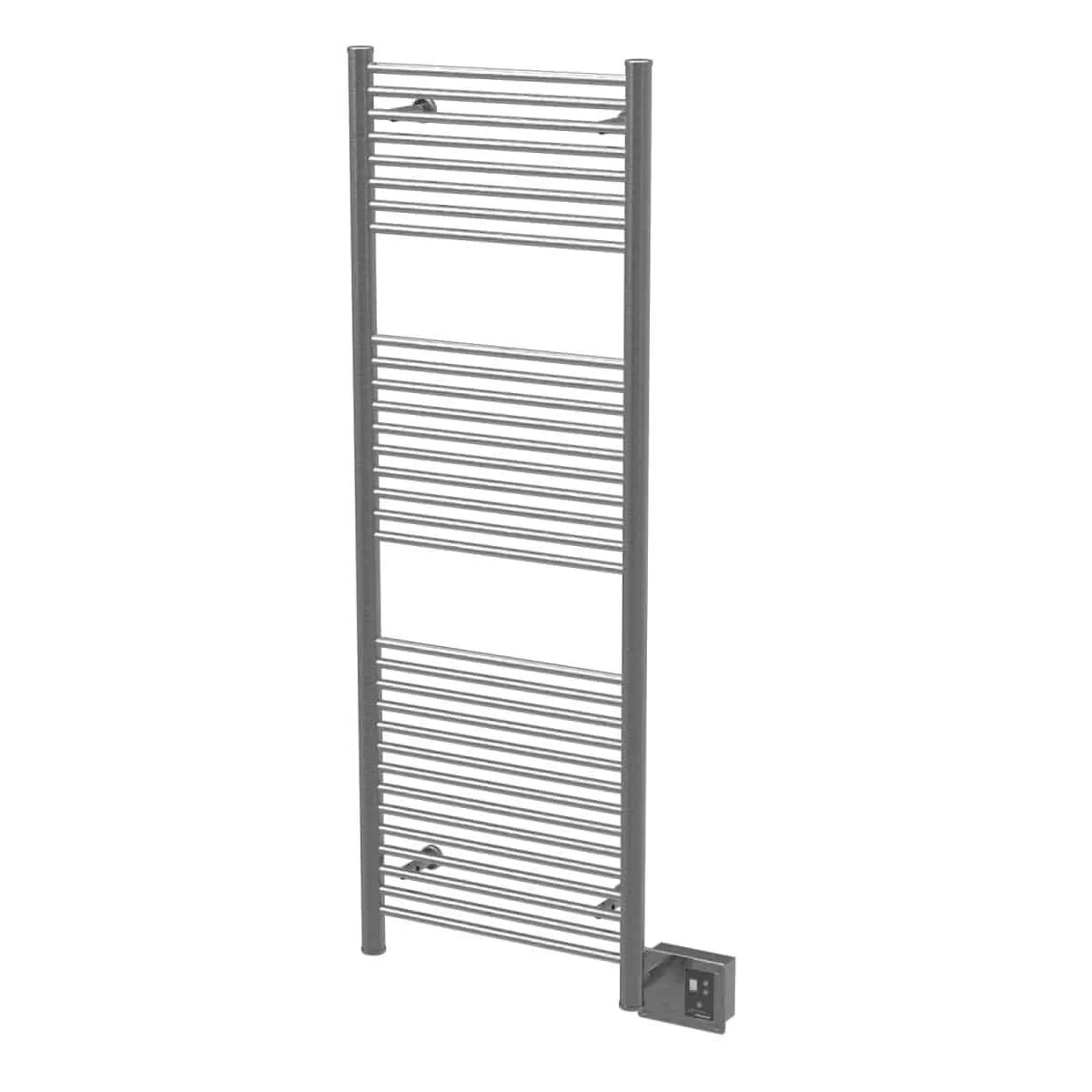 Amba A2056B Antus Heated Towel Rack - Brushed