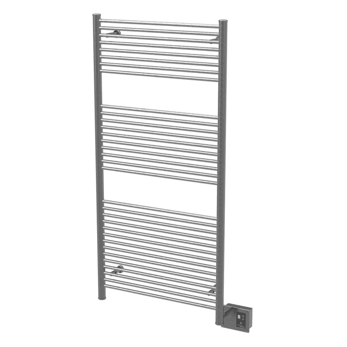 Amba A2856B Antus Heated Towel Rack - Brushed