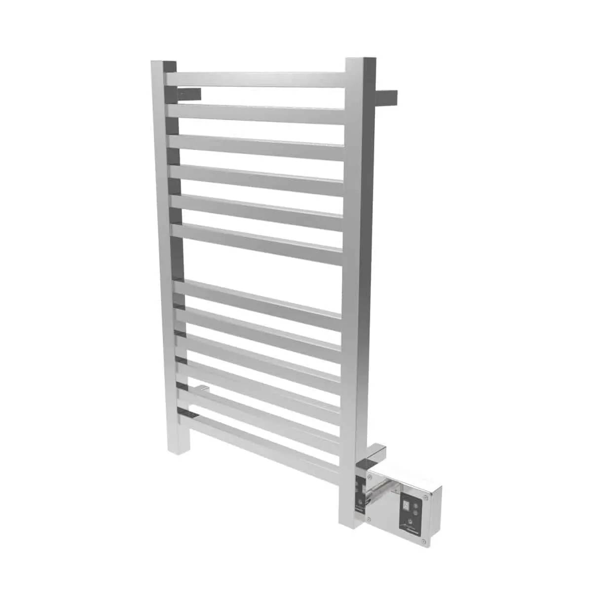 Amba Q2033P Quadro Heated Towel Rack - Polished