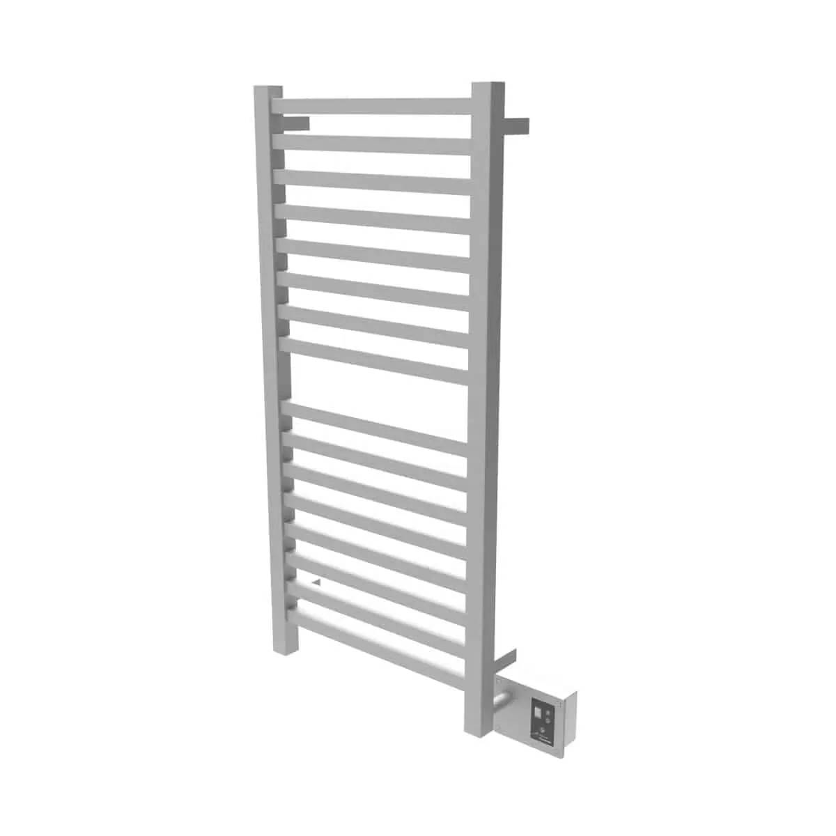 Amba Q2042B Quadro Heated Towel Rack - Brushed