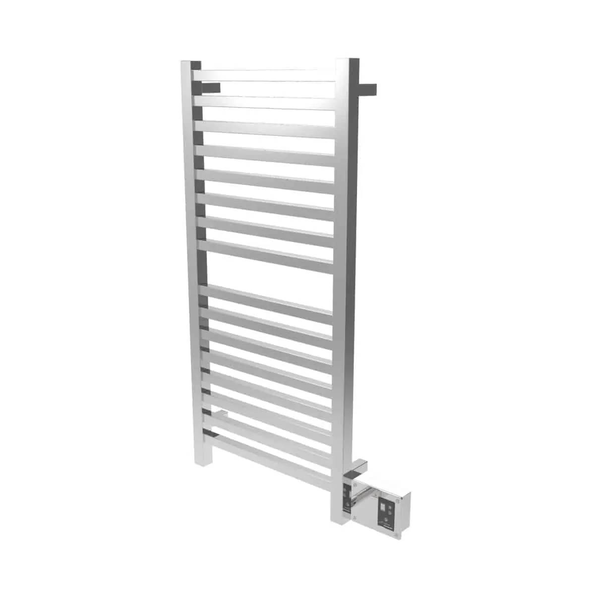 Amba Q2042P Quadro Heated Towel Rack - Polished