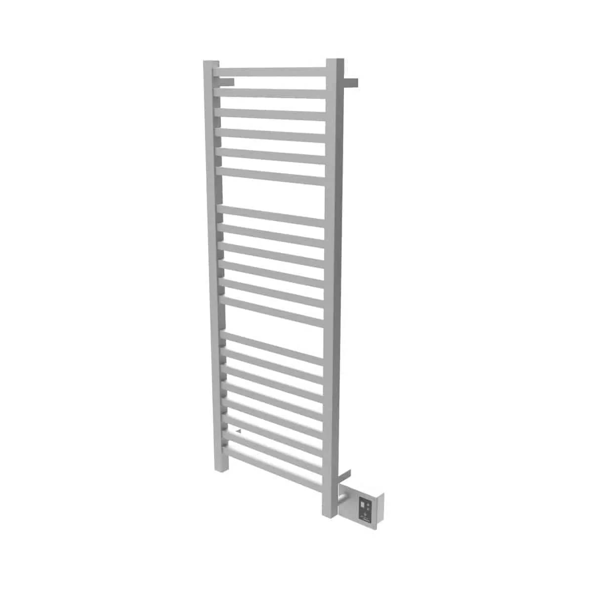 Amba Q2054B Quadro Heated Towel Rack - Brushed