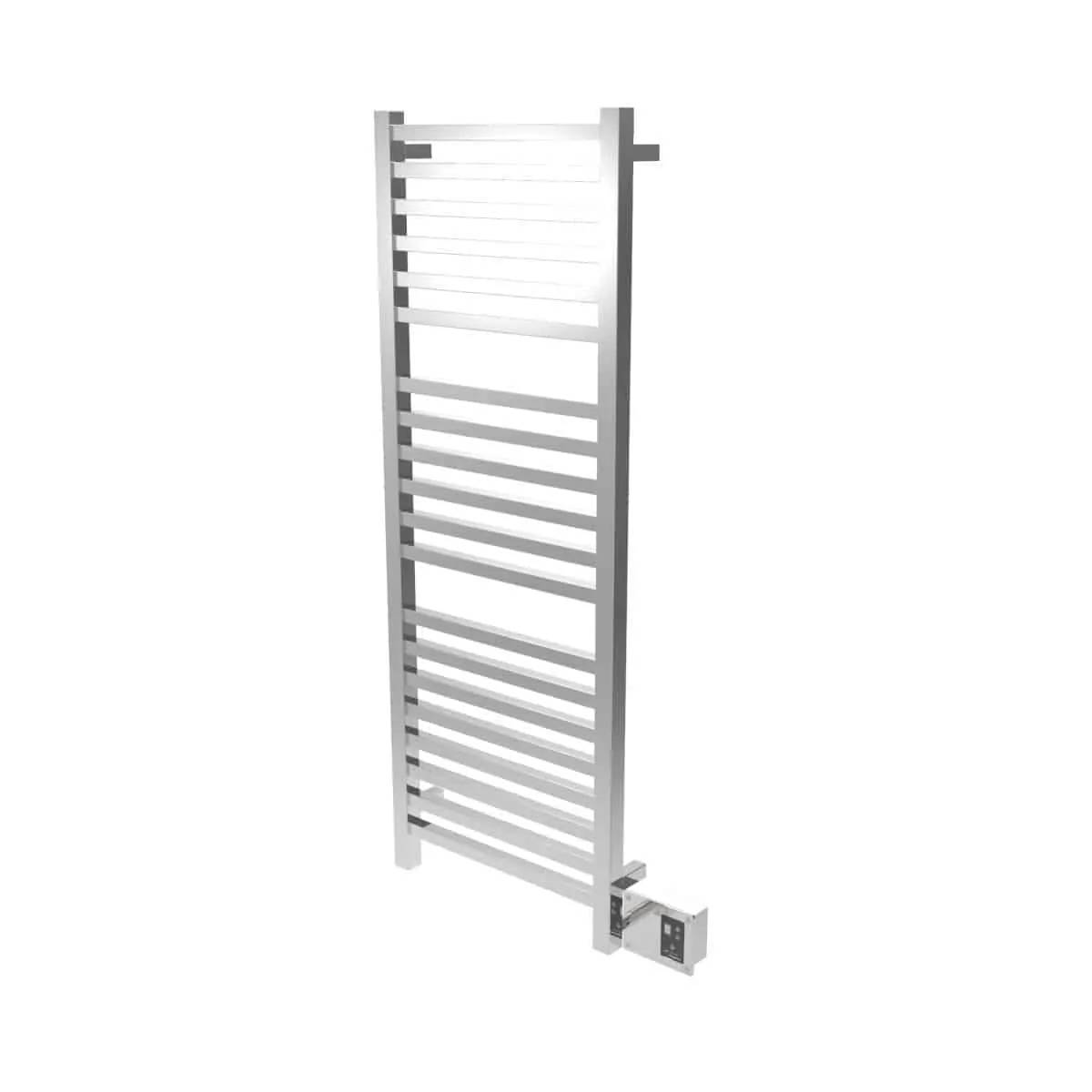Amba Q2054P Quadro Heated Towel Rack - Polished