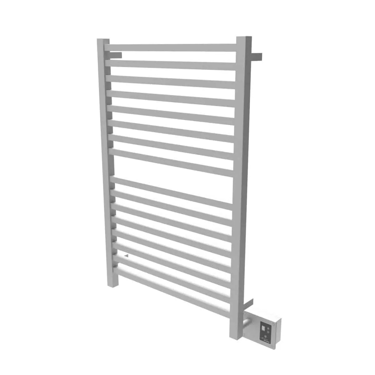 Amba Q2842B Quadro Heated Towel Rack - Brushed