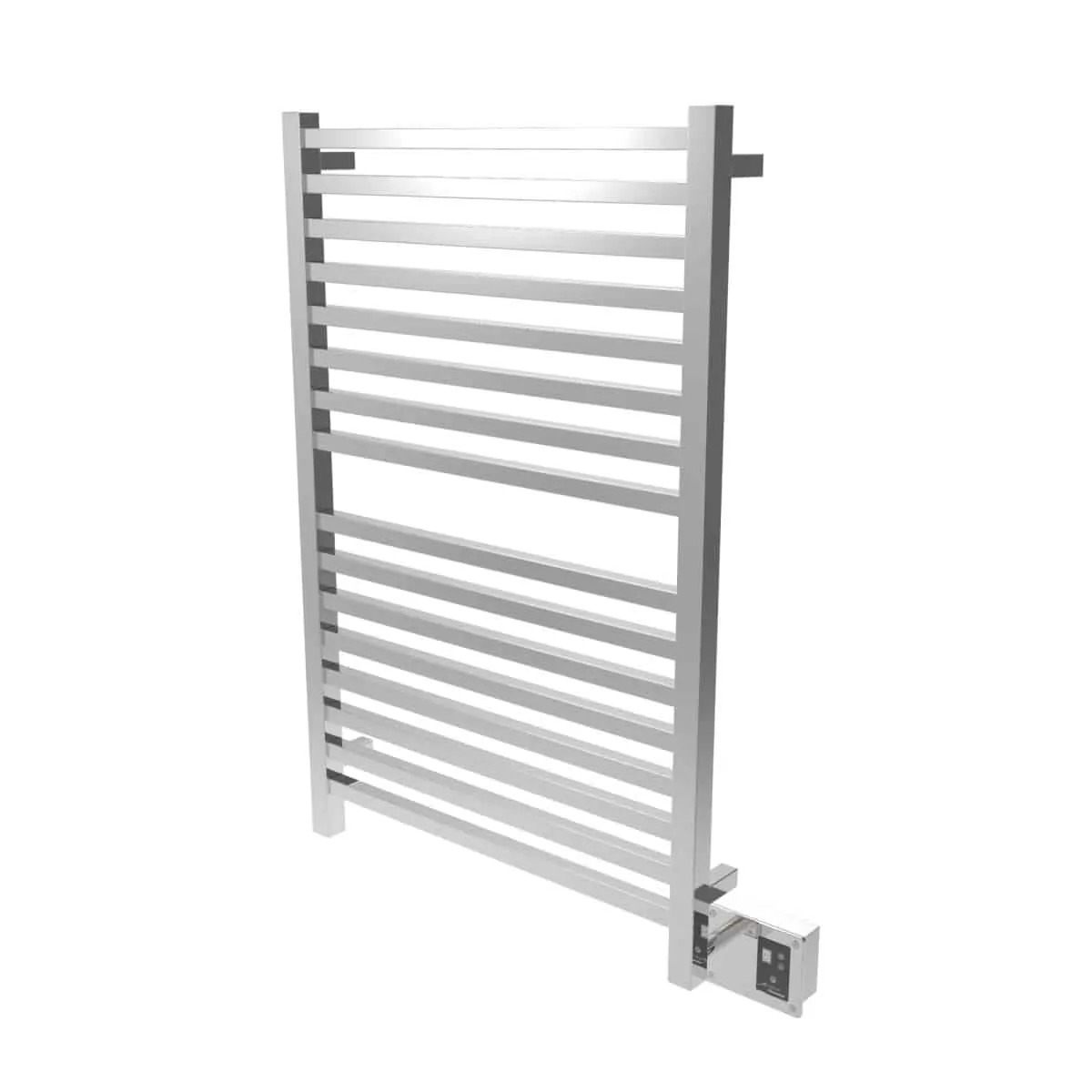 Amba Q2842P Quadro Heated Towel Rack - Polished