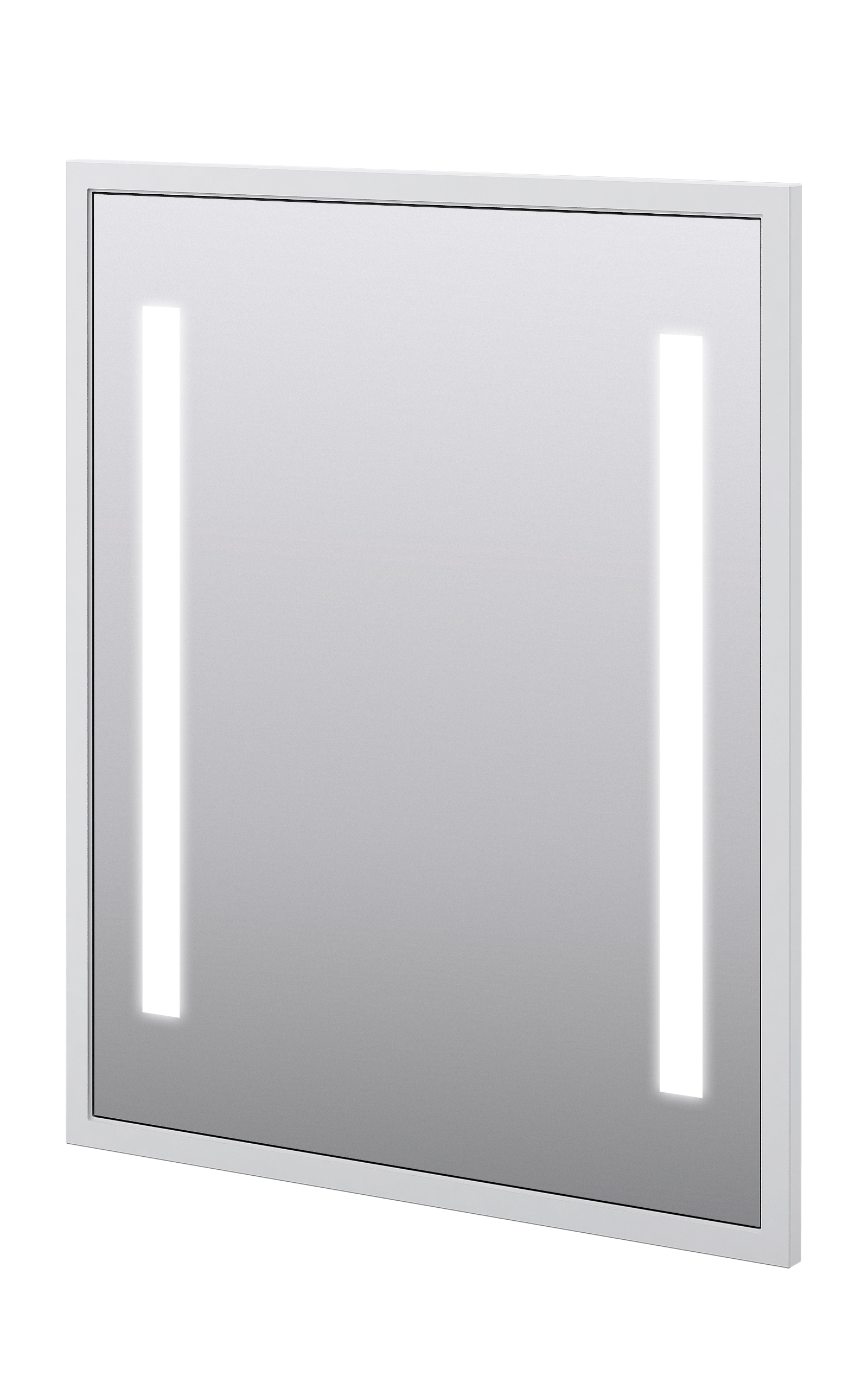 "Baden Haus 45016 28.7""W x 35.4""H Mirror LED Matt White"