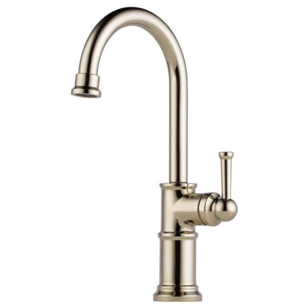 Brizo 61025LF-PN Artesso Single Handle Bar Faucet - Polished Nickel