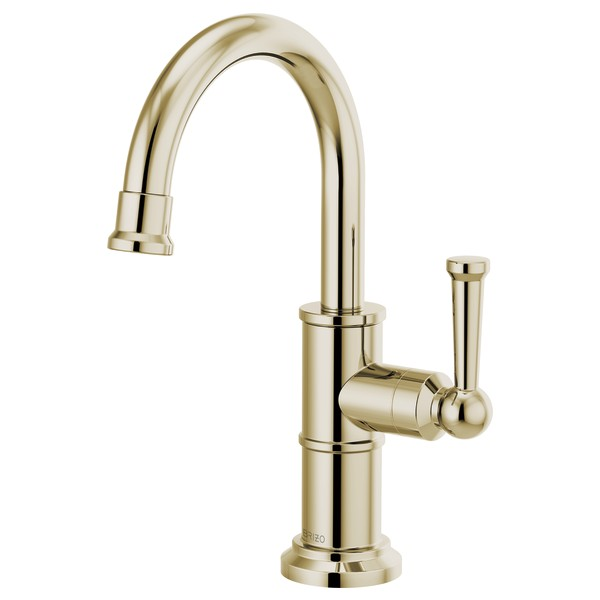 Brizo 61325LF-C-PN Artesso Beverage Faucet - Polished Nickel