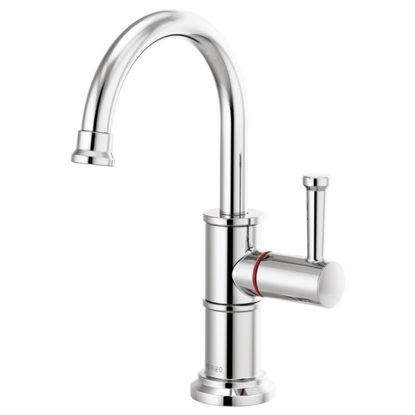 Brizo 61325LF-H-PC Artesso Instant Hot Faucet with Arc Spout - Chrome