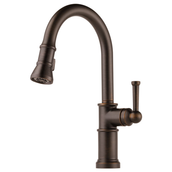 Brizo 63025LF-RB Artesso Single Handle Pull Down Kitchen Faucet - Venetian Bronze