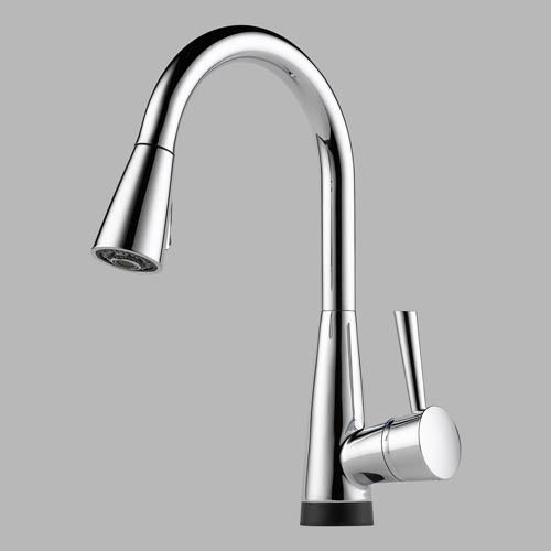 brizo faucets kitchen 64070 brizo venuto single handle pull kitchen faucet 10805