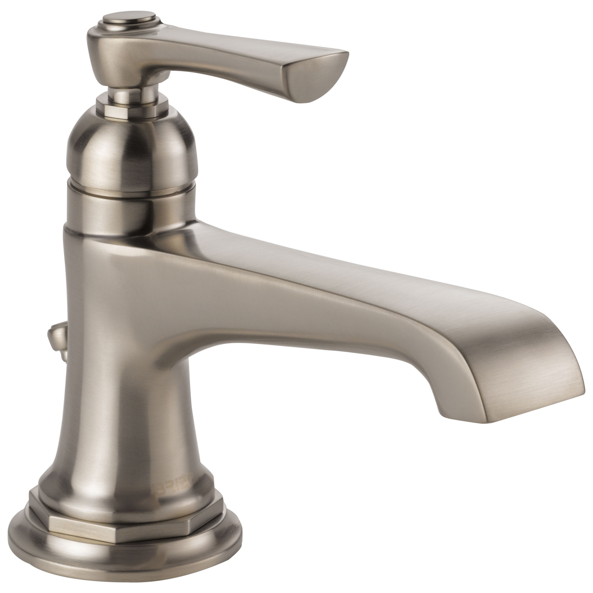 Brizo 65060LF-NK Rook Single Handle Single Hole Lavatory Faucet - Luxe Nickel