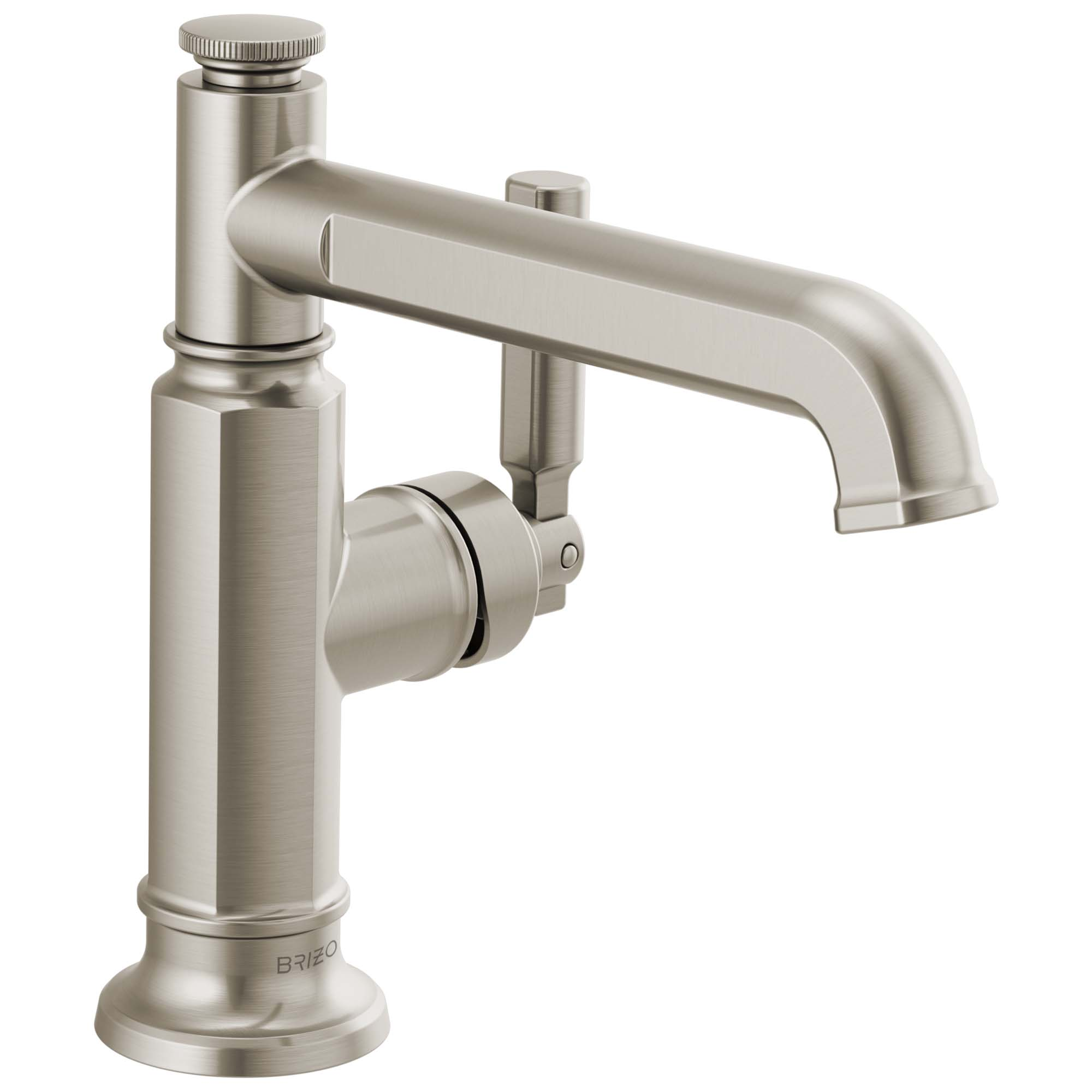 Brizo 65076LF-NK Brizo Invari: Single-Handle Lavatory Faucet - Luxe Nickel