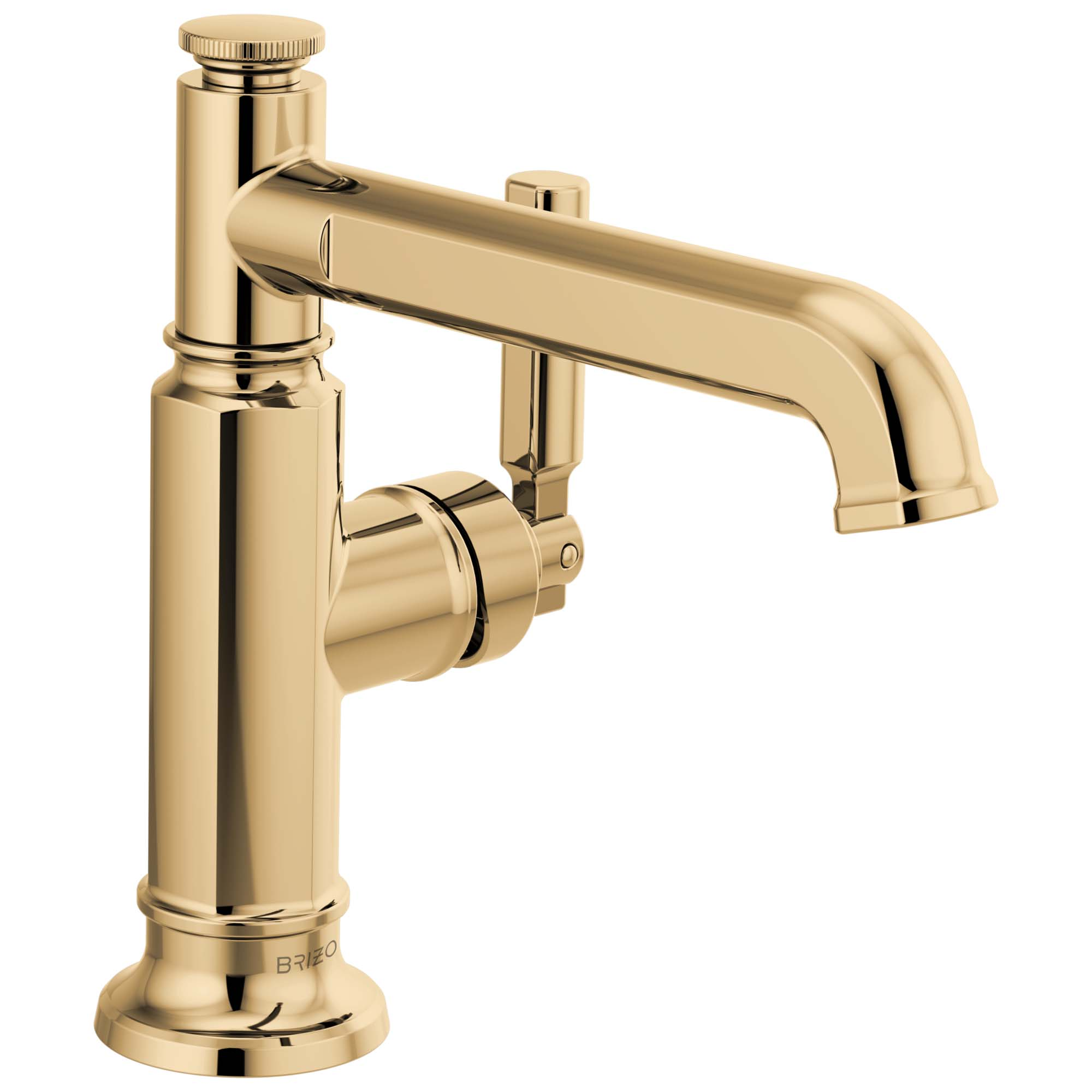 Brizo 65076LF-PG Brizo Invari: Single-Handle Lavatory Faucet - Polished Gold