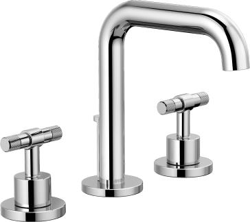 Brizo 65335LF-PCLHP-ECO Litze Widespread Lavatory Faucet with Less Handles - Chrome