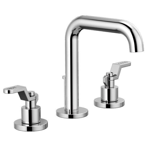 Brizo 65335LF-PCLHP Litze Widespread Lavatory Faucet with Less Handles - Chrome