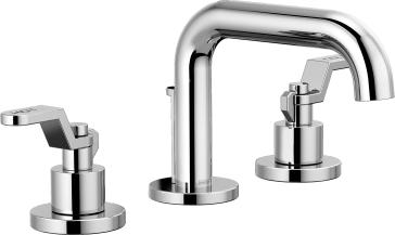 Brizo 65337LF-PCLHP-ECO Litze Widespread Lavatory Faucet with Less Handles - Chrome