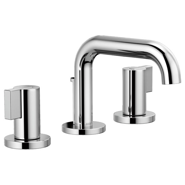 Brizo 65337LF-PCLHP Litze Widespread Lavatory Faucet with Less Handles - Chrome
