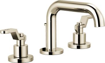 Brizo 65337LF-PNLHP-ECO Litze Widespread Lavatory Faucet with Less Handles - Polished Nickel