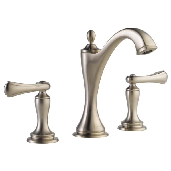 Brizo 65385LF-BNLHP-ECO Charlotte Widespread Lavatory Faucet - Less Handles - Brushed Nickel