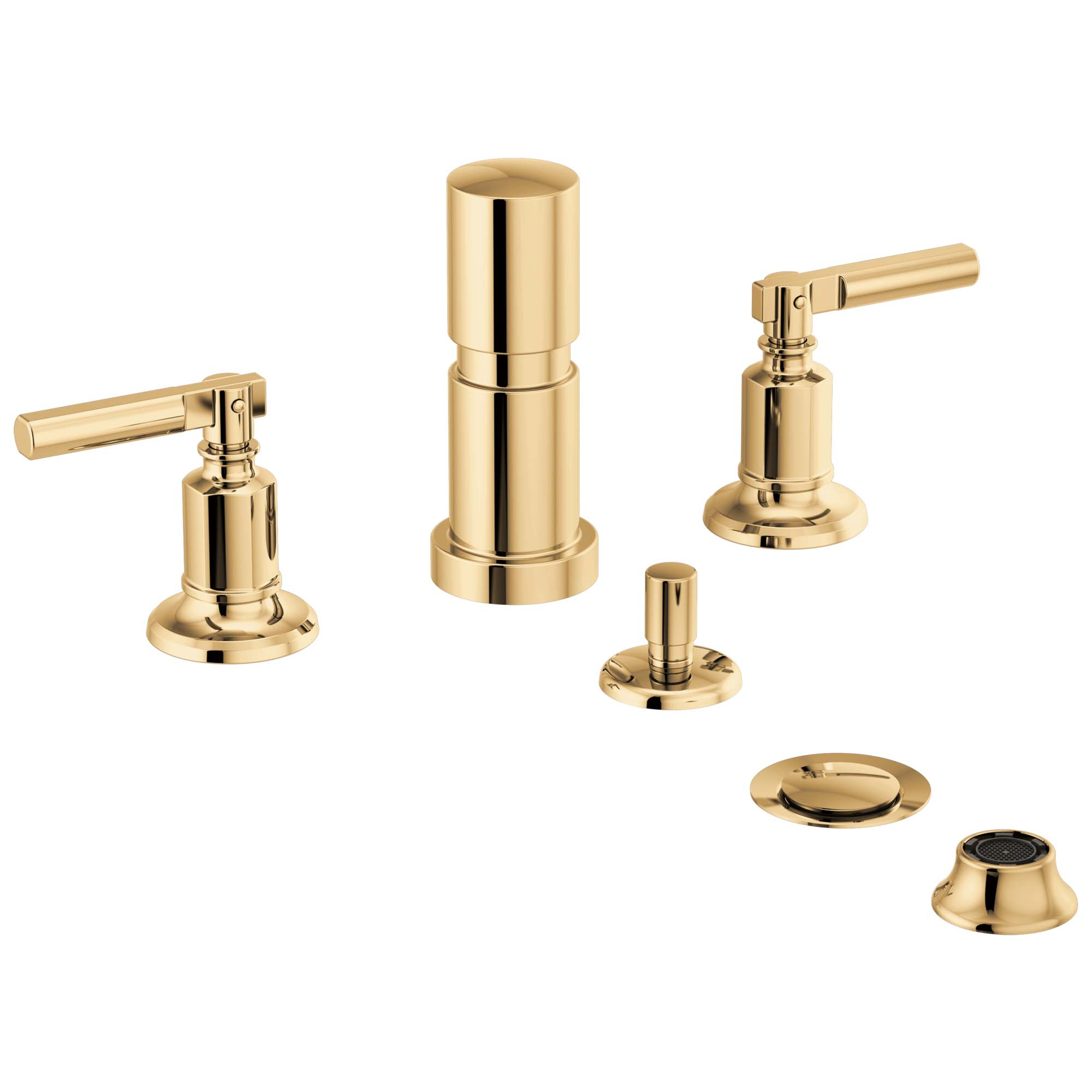 Brizo 68476-PG Brizo Invari: Bidet - Polished Gold
