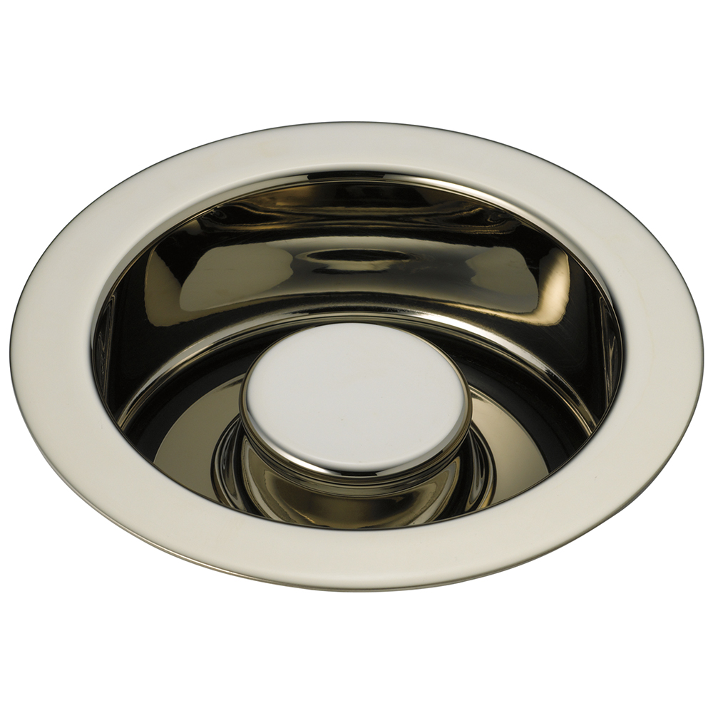 Brizo 69070-PN Disposal and Flange Stopper for Kitchen - Polished Nickel