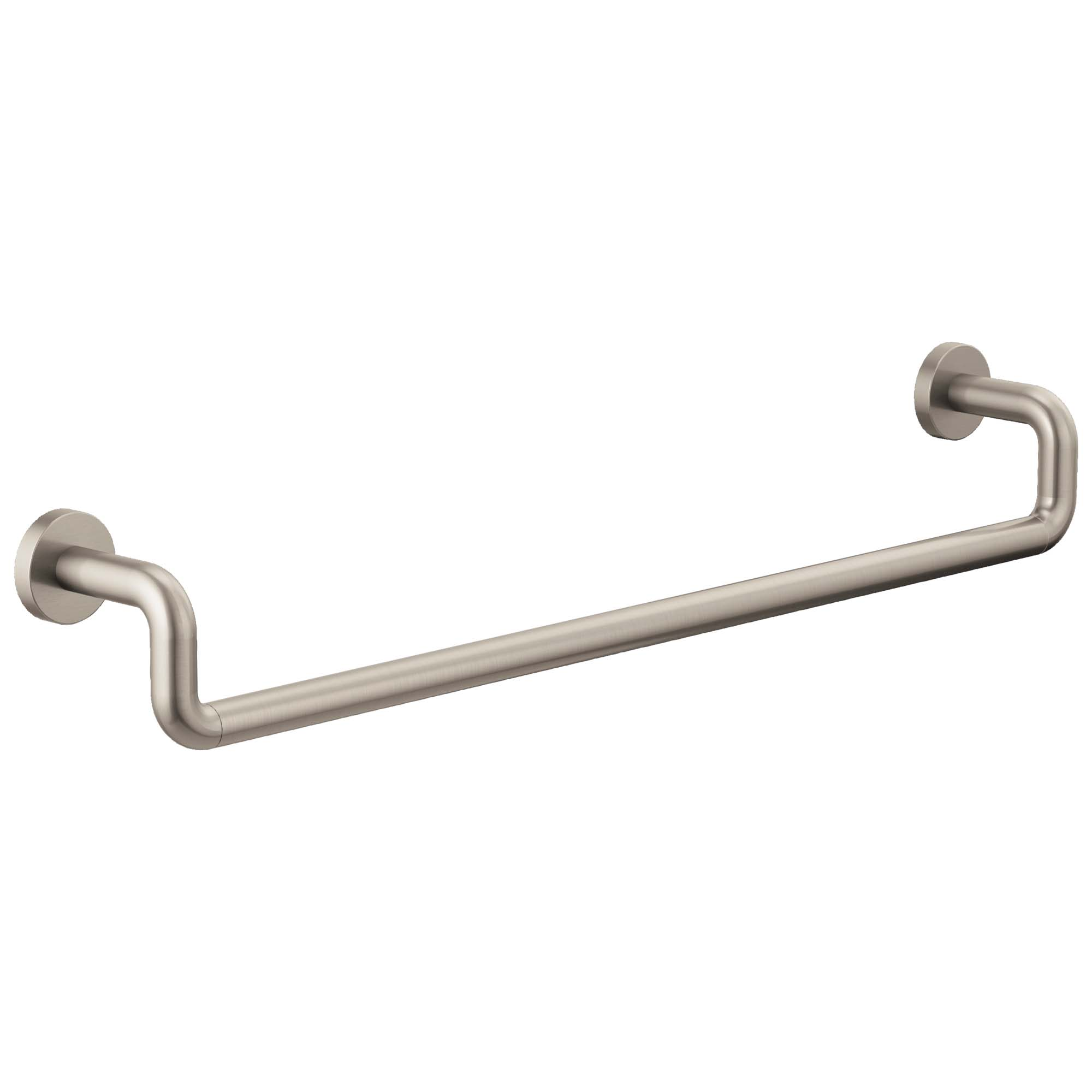 "Brizo 692435-NK Litze 24"" Towel Bar - Luxe Nickel"