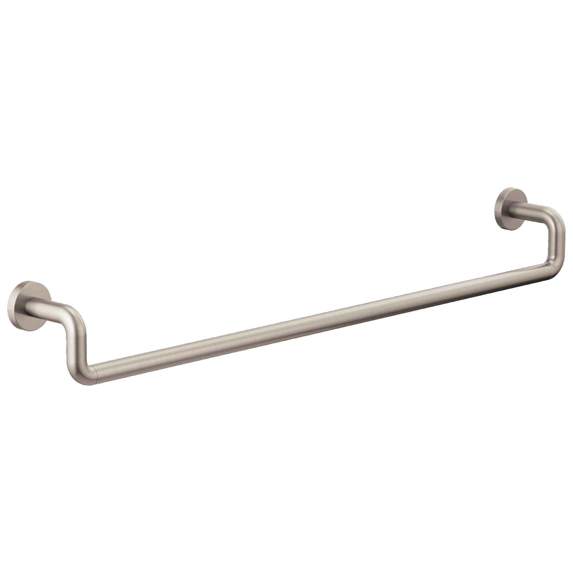 "Brizo 693035-NK Litze 30"" Towel Bar - Luxe Nickel"