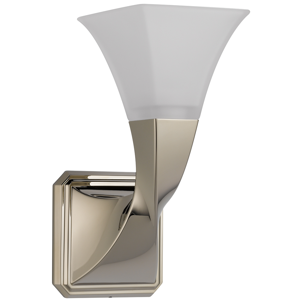 Brizo 697030-PN Virage Light - Single Sconce - Polished Nickel