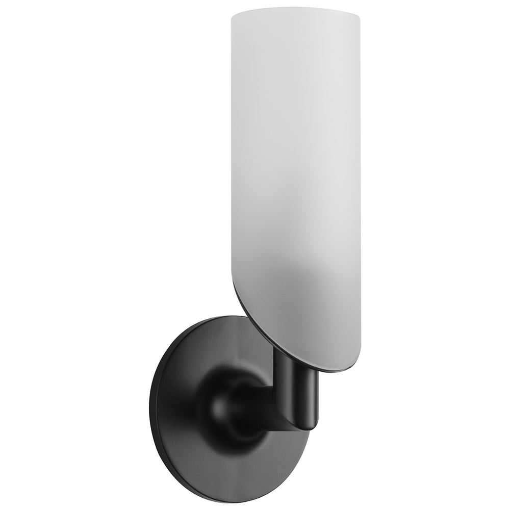 Brizo 697075-BL Odin Light - Single Sconce - Matte Black