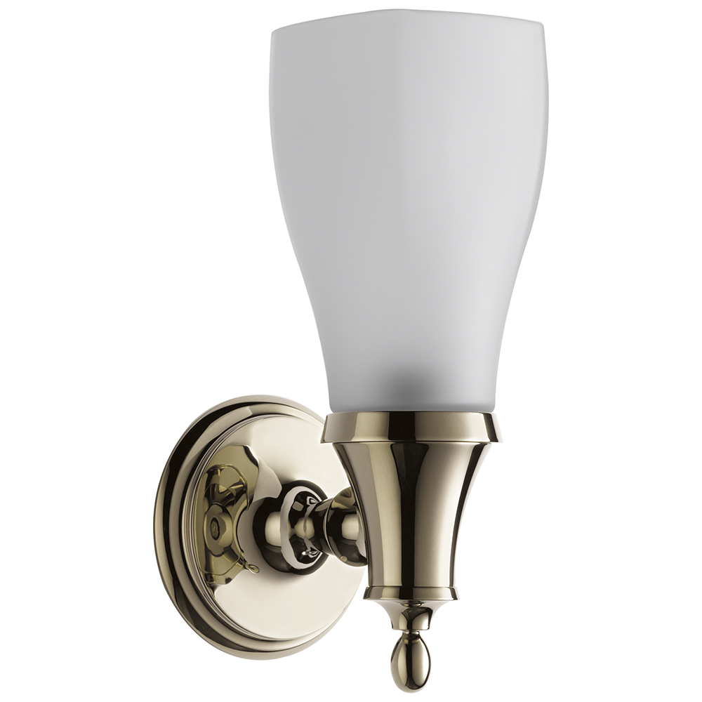Brizo 697085-PN Charlotte Light - Single Sconce - Polished Nickel
