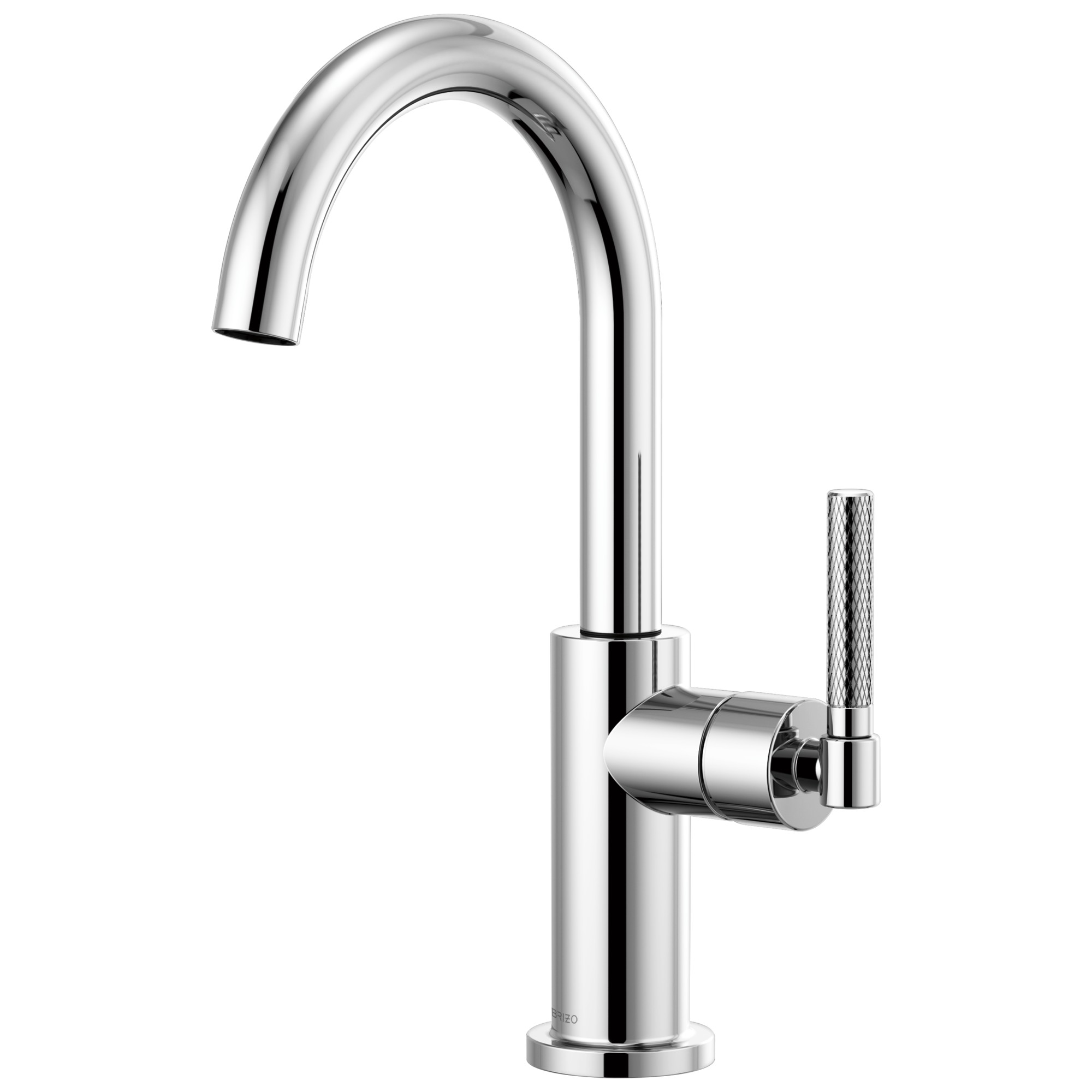 Brizo 61043LF-PC Litze Bar Faucet with Arc Spout and Knurled Handle - Chrome