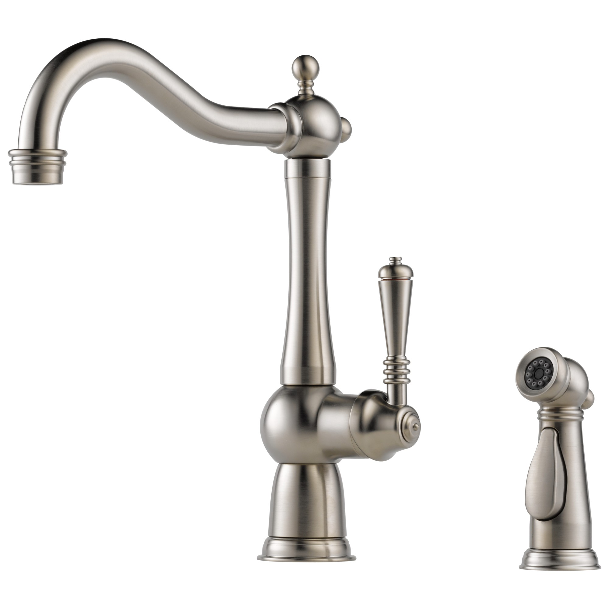 Brizo 61136LF-SS Tresa Single Handle Kitchen Faucet with Spray - Stainless