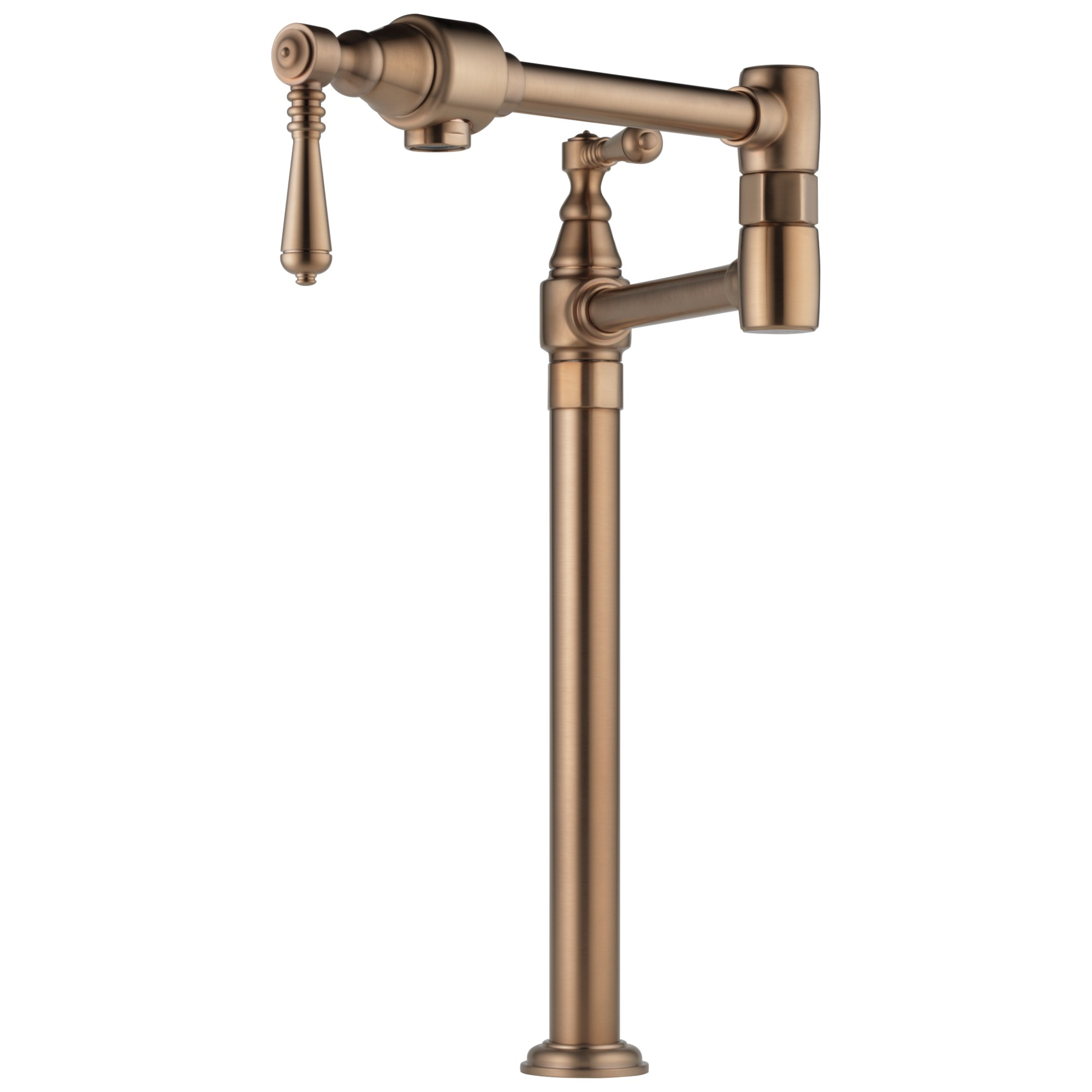 Brizo 62710LF-BZ Traditional Deck Mount Pot Filler Faucet - Brilliance Brushed Bronze
