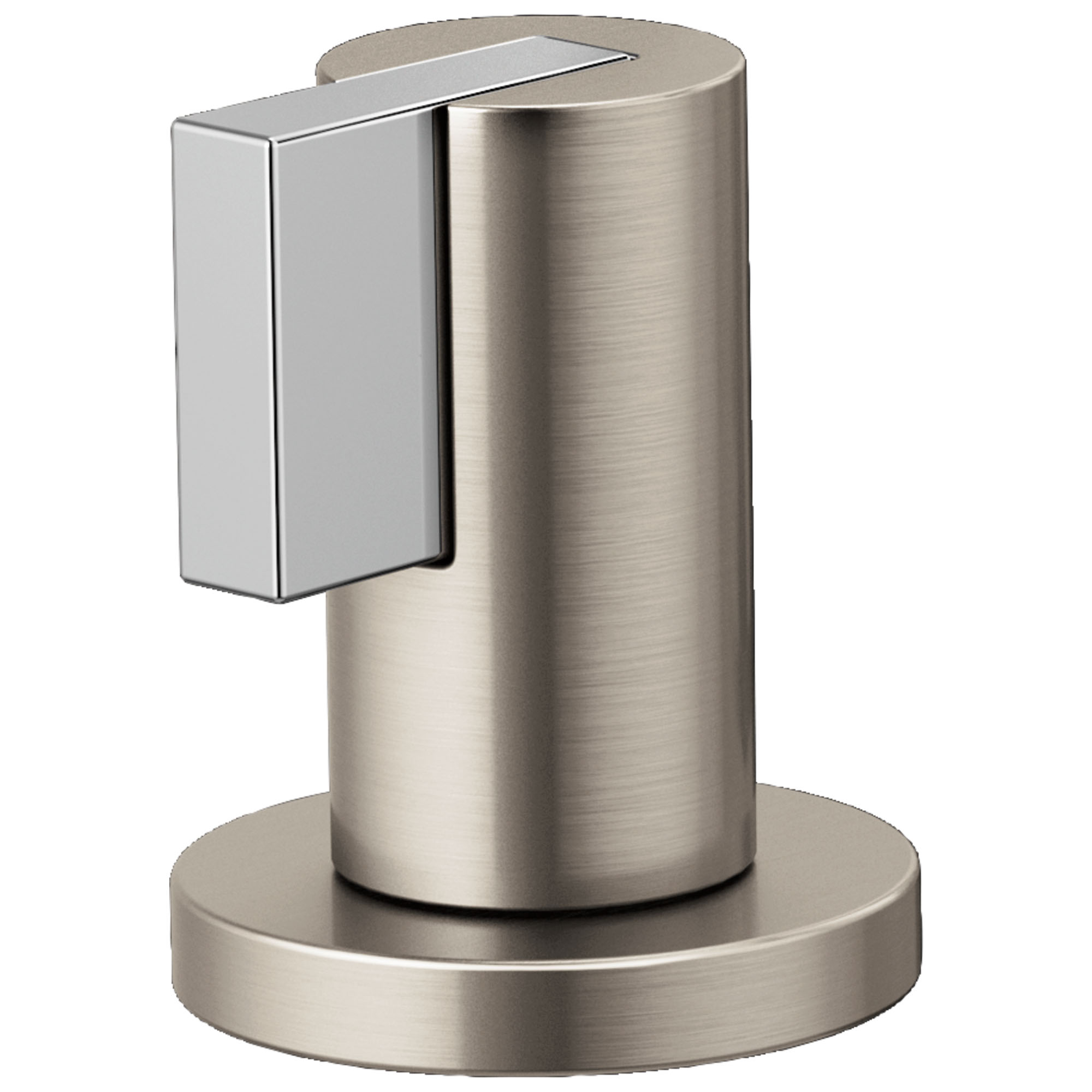Brizo HL5332-NKPC Litze Widespread Handle Kit with Lever - Luxe Nickel/Polished Chrome