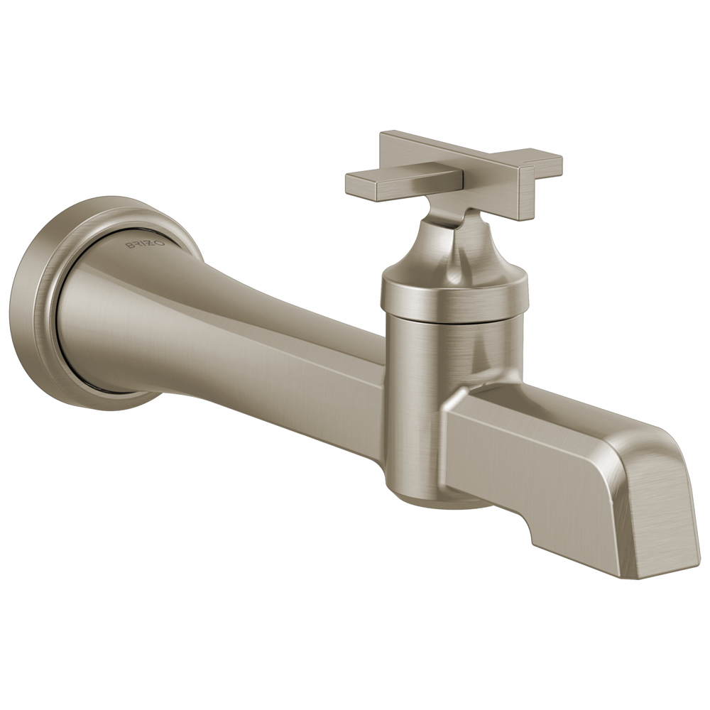 Brizo T65798LF-NK Levoir Single-Handle Wall Mount Lavatory Faucet - Luxe Nickel