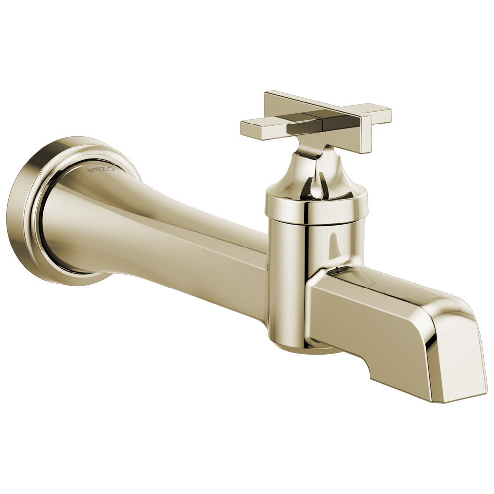 Brizo T65798LF-PN Levoir Single-Handle Wall Mount Lavatory Faucet - Polished Nickel