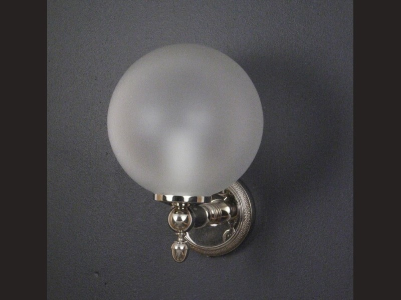 Cristal et Bronze 1836 Cisele Single Wall Light