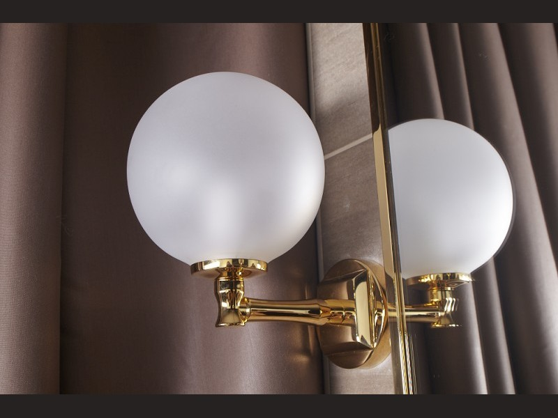 Cristal et Bronze 5341 Ile de France Single Wall Light