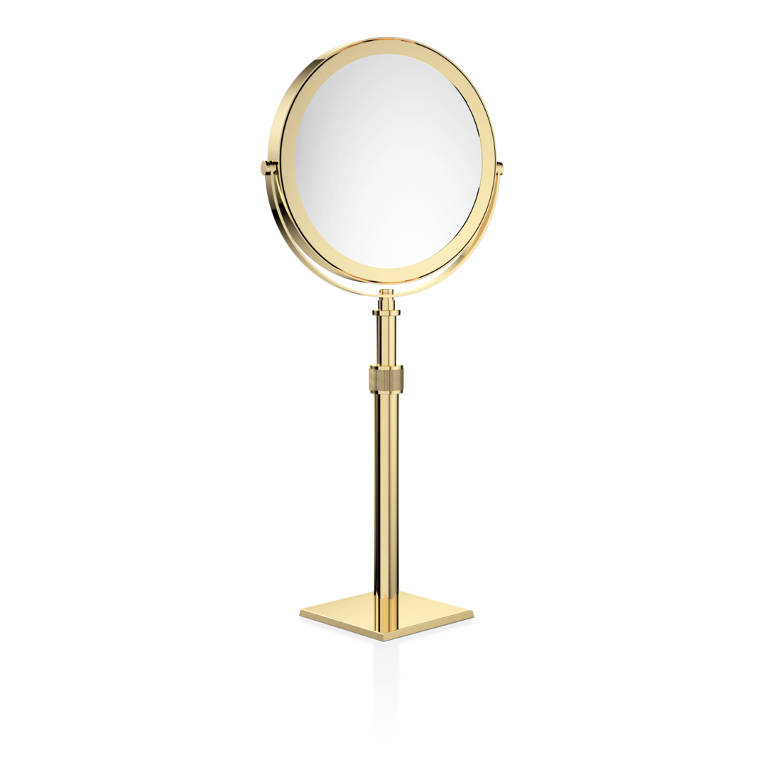 Decor Walther 0100420 DW-SP 15/V Cosmetic Mirror - Gold