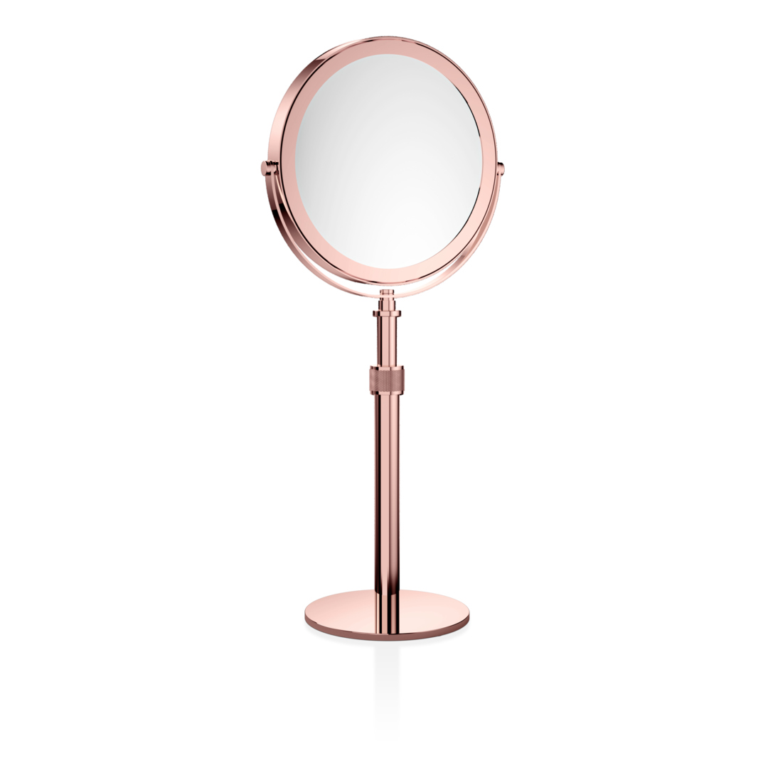 Decor Walther 0101016 DW-SP 13/V Cosmetic Mirror - Rose Gold