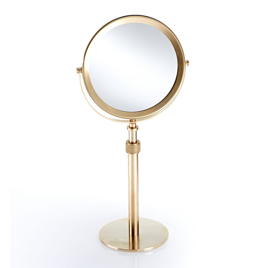 Decor Walther 0101082 DW-SP 13/V Cosmetic Mirror - Gold Matt
