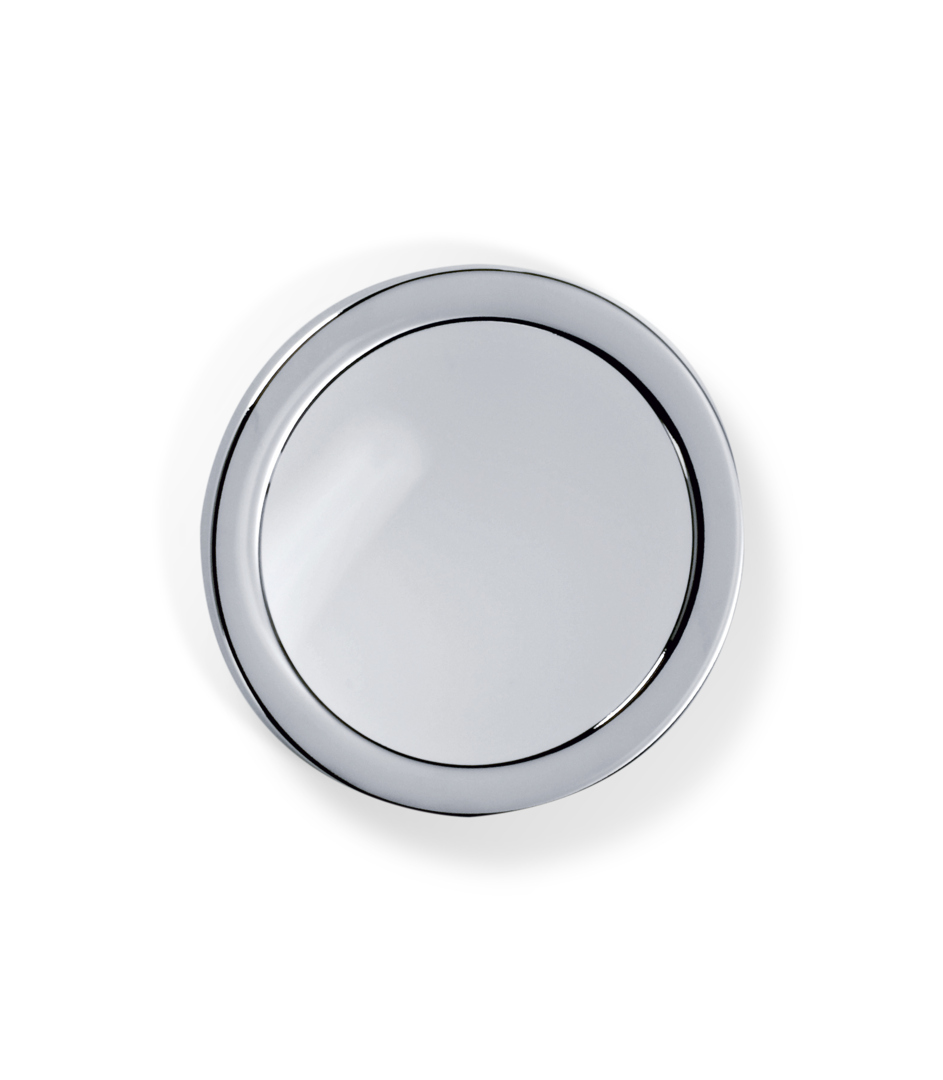 Decor Walther 0101300 DW-SPT 1 Cosmetic Mirror with Suction Cup - Chrome