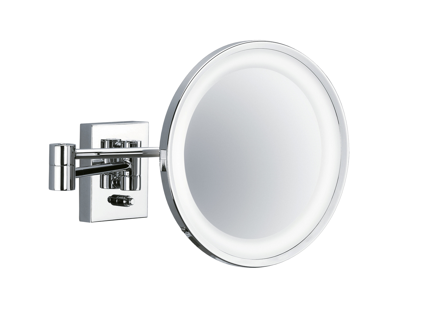 Decor Walther 0102000 DW-BS 40 PL Cosmetic Mirror Illuminated - Chrome