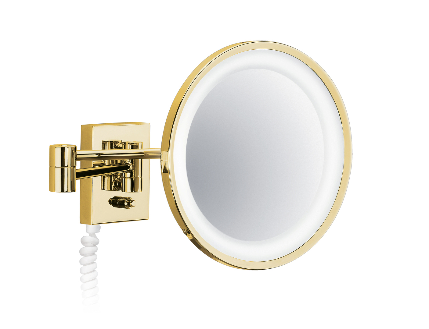 Decor Walther 0102020 DW-BS 40 PL Cosmetic Mirror Illuminated - Gold