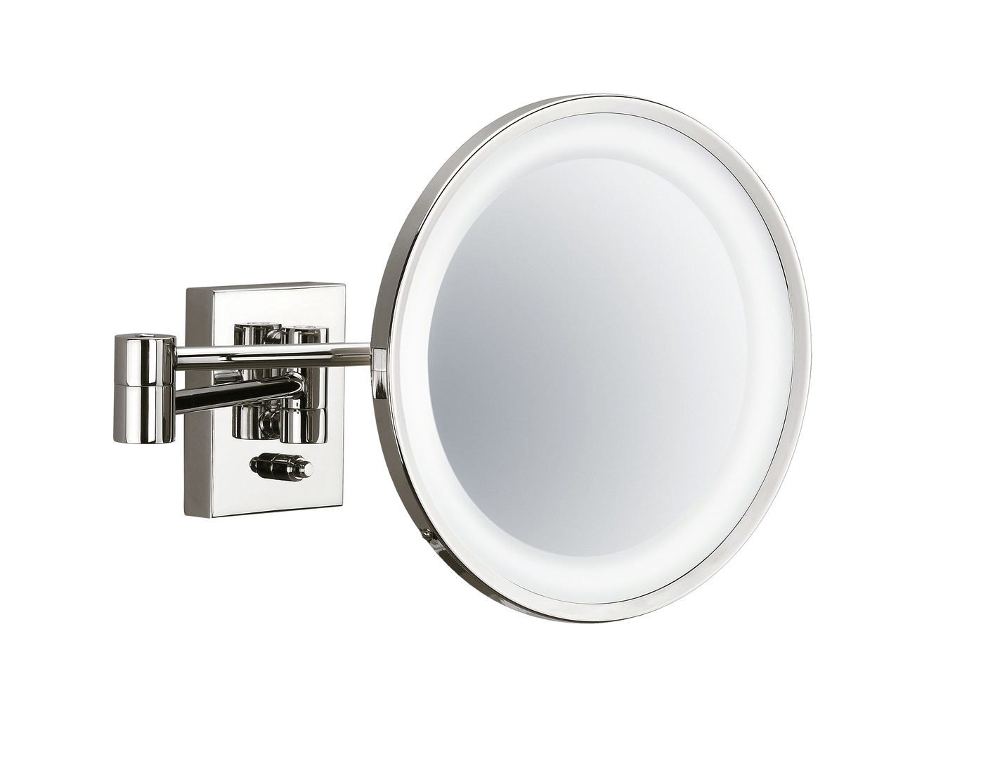 Decor Walther 0102030 DW-BS 40 PL Cosmetic Mirror Illuminated - Nickel Polished