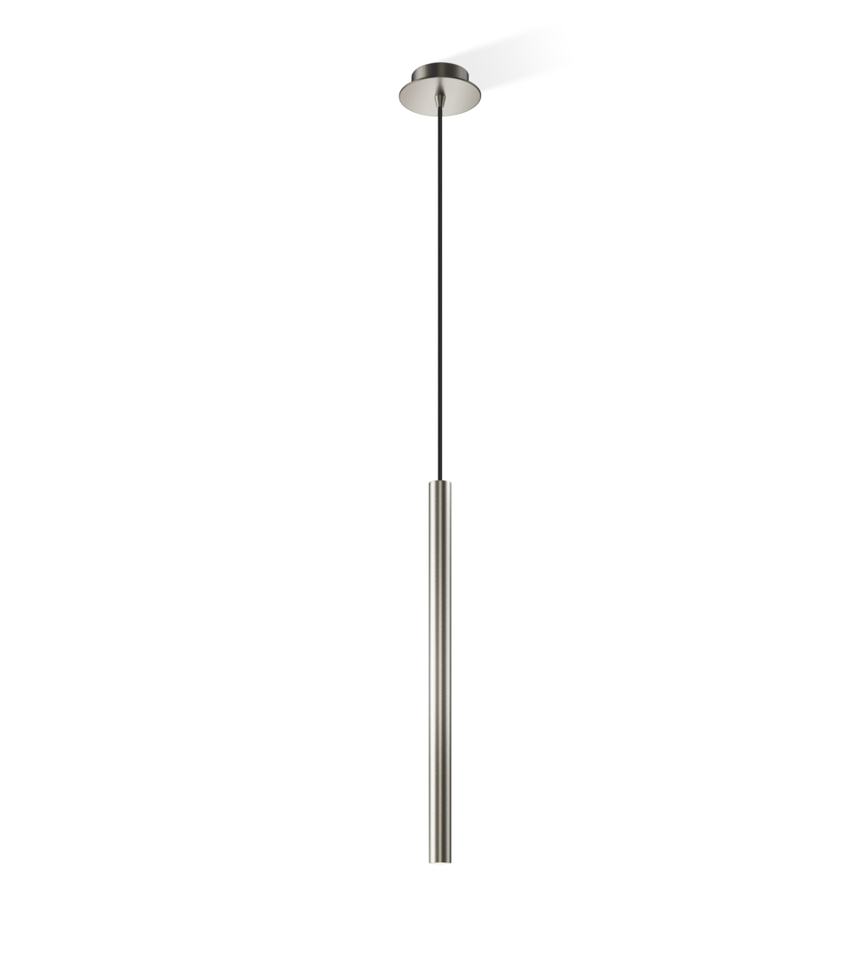 Decor Walther 0214034 DW-Pipe 1 Pendant Light - Nickel Satined